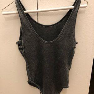 Topshop cutout bodysuit
